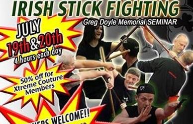 Irish Stick Fighting Seminar with Sifu Glen Doyle