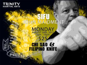 Sifu John Maidment