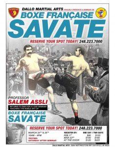 Savate Seminar 2018