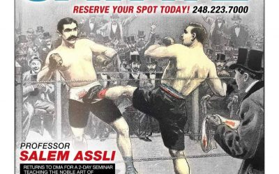 Boxe Française Savate with Salem Assli