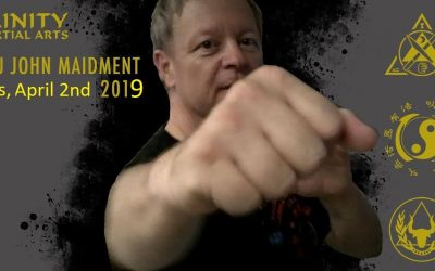 Sifu John Maidment April 2nd
