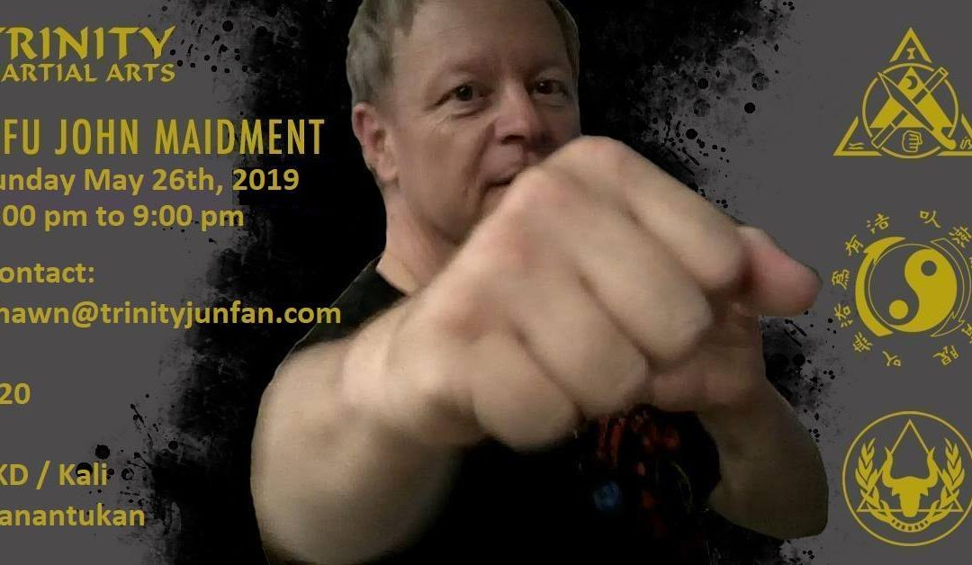 Sifu Maidment May 26th
