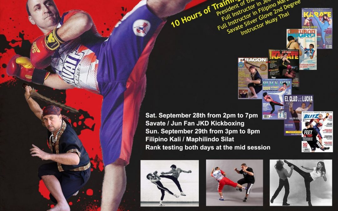 Salem Assli Savate September 28 2019